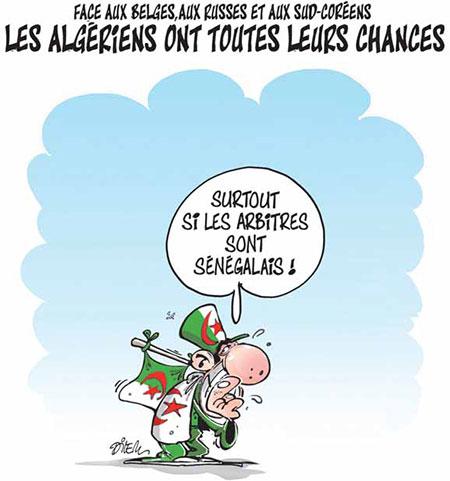Les Algériens ont toutes leurs chances - toutes - Gagdz.com