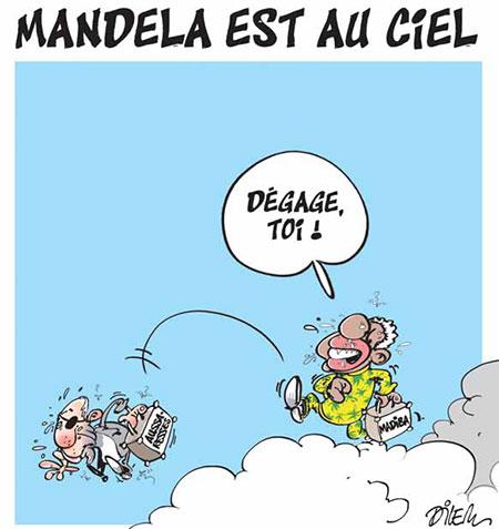 Mandela est au ciel - Mandela - Gagdz.com