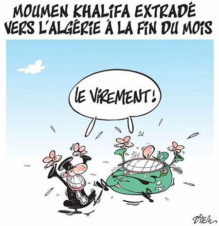 Moumen Khalifa extradé vers l'Algérie à la fin du mois - Moumen - Gagdz.com