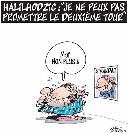 Halilhodzic: Je ne peux pas promettre le deuxième tour - Halilhodzic - Gagdz.com