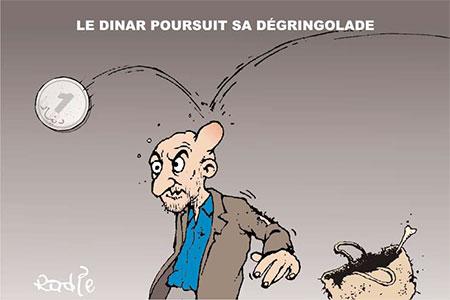 Le dinar poursuit sa dégringolade - Ghir Hak - Les Débats - Gagdz.com