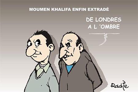 Moumen Khalifa enfin extradé - Moumen - Gagdz.com