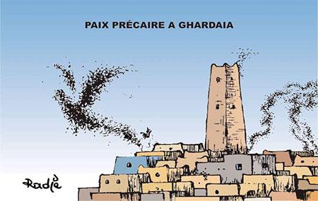 Paix précaire à Ghardaïa - Ghir Hak - Les Débats - Gagdz.com