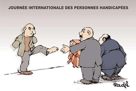 Journée internationale des personnes handicapées - Ghir Hak - Les Débats - Gagdz.com
