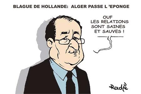 Blague de Hollande: Alger passe l'éponge - Ghir Hak - Les Débats - Gagdz.com
