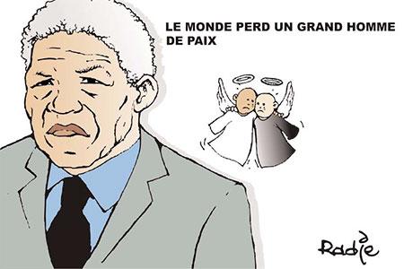 Le monde perd un grand homme de paix - Ghir Hak - Les Débats - Gagdz.com