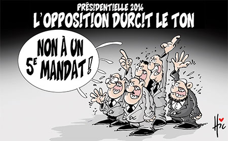Présidentielle 2014: L'opposition durcit le ton - Le Hic - El Watan - Gagdz.com