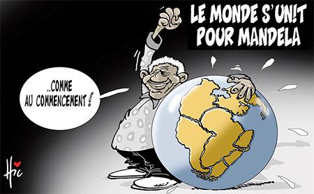 Le monde s'unit pour Mandela - Le Hic - El Watan - Gagdz.com