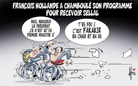 François Hollande a chamboulé son programme pour recevoir Sellal - Le Hic - El Watan - Gagdz.com