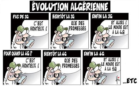 Evolution algérienne - Le Hic - El Watan - Gagdz.com