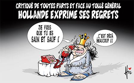 Hollande exprime ses regrets - Le Hic - El Watan - Gagdz.com