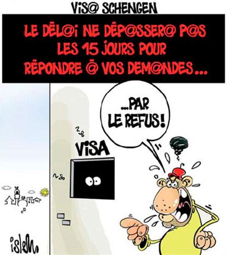 Visa Schengen - Islem - Le Temps d'Algérie - Gagdz.com
