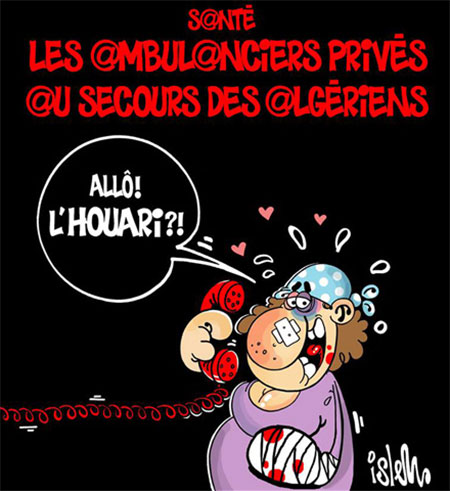 Santé: Les ambulanciers privés au secours des algériens - Islem - Le Temps d'Algérie - Gagdz.com