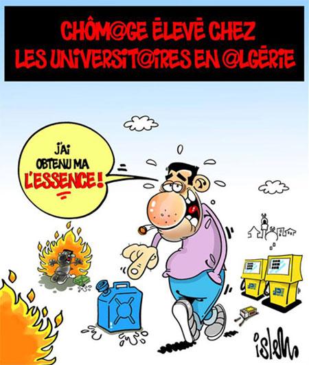 Chômage élevé chez les universitaires en Algérie - Islem - Le Temps d'Algérie - Gagdz.com