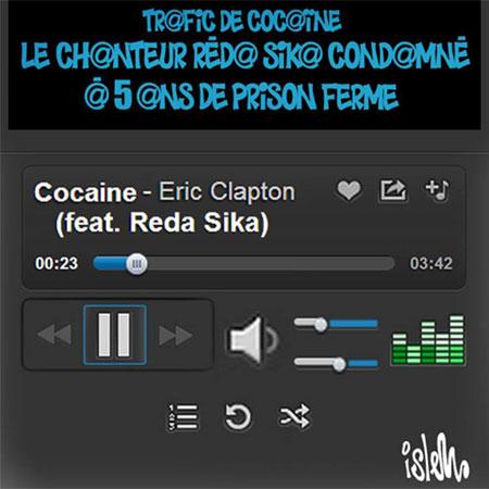 Trafic de cocaine: Réda Sika condamné à 5 ans de prison ferme - Islem - Le Temps d'Algérie - Gagdz.com
