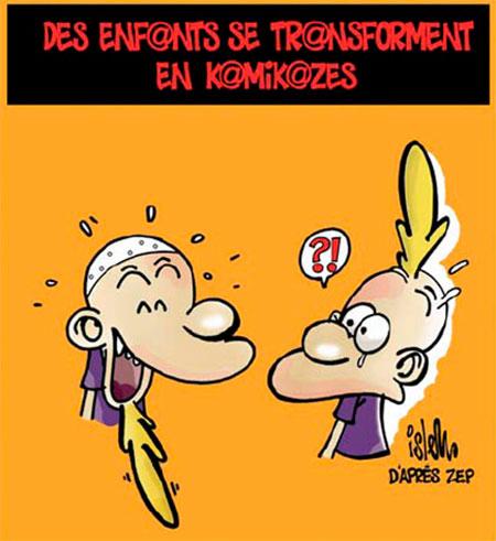 Des enfants se transforment en kamikazes - Islem - Le Temps d'Algérie - Gagdz.com