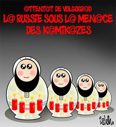 Les russes sous la menace des kamikazes - Islem - Le Temps d'Algérie - Gagdz.com