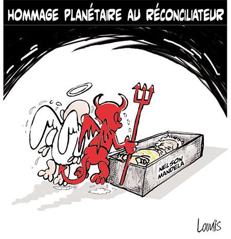 Hommage planétaire au réconciliateur - Lounis Le jour d'Algérie - Gagdz.com