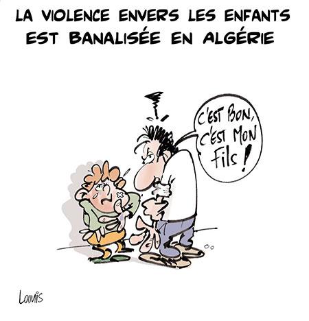 La violence envers les enfants est banalisée en Algérie - Lounis Le jour d'Algérie - Gagdz.com