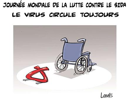 Journée mondiale de la lutte contre le sida: Le virus circulte toujours - Lounis Le jour d'Algérie - Gagdz.com