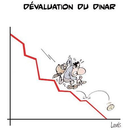 Dévaluation du dinar - dévaluation - Gagdz.com