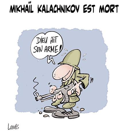 Mikhaïl Kalachnikov est mort - Lounis Le jour d'Algérie - Gagdz.com