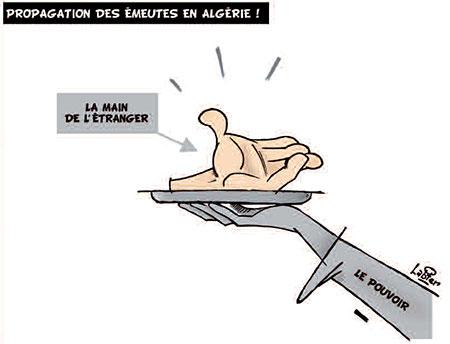Propagation des émeutes en Algérie - émeutes - Gagdz.com