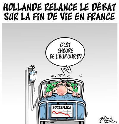 Hollande lance le débat sur la fin de vie en France - Dilem - TV5 - Gagdz.com