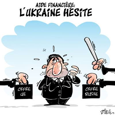 Aide financière l'Ukraine hésite - Dilem - TV5 - Gagdz.com