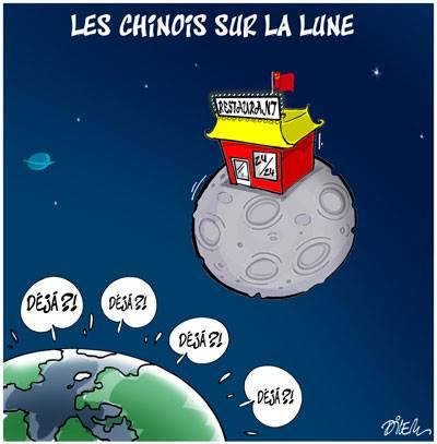 Les chinois sur la lune - Dilem - TV5 - Gagdz.com