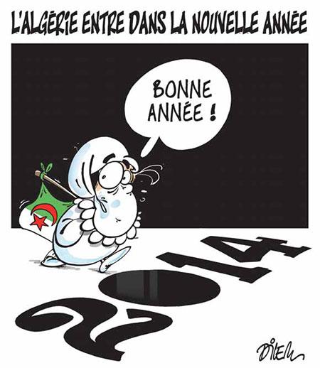 L'Algérie entre dans la nouvelle année - Dilem - Liberté - Gagdz.com