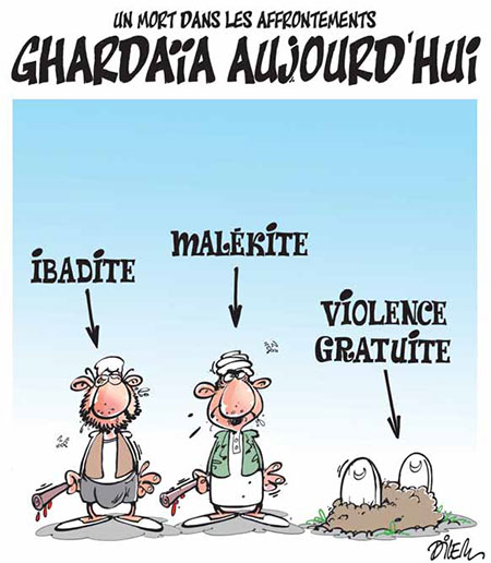 Ghardaïa aujourd'hui - Dilem - Liberté - Gagdz.com