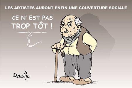 Les artistes auront enfin une couverture sociale - Ghir Hak - Les Débats - Gagdz.com