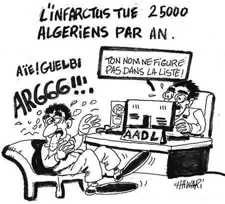L'infarctus tue 25000 algériens par an - Hawari - La Tribune des Lecteurs - Gagdz.com