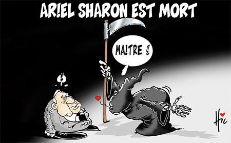 Ariel Sharon est mort - Le Hic - El Watan - Gagdz.com