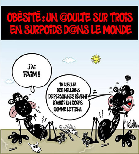 Obésité: Un adulte sur trois en surpoids dans le monde - Islem - Le Temps d'Algérie - Gagdz.com