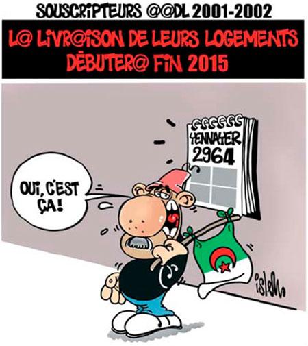La livraison des logements aadl 2001-2002 débutera fin 2015 - Islem - Le Temps d'Algérie - Gagdz.com