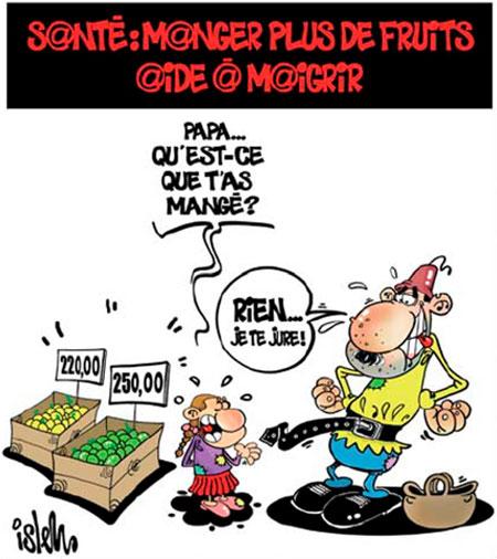 Santé: Manger plus de fruits aide à maigrir - Islem - Le Temps d'Algérie - Gagdz.com