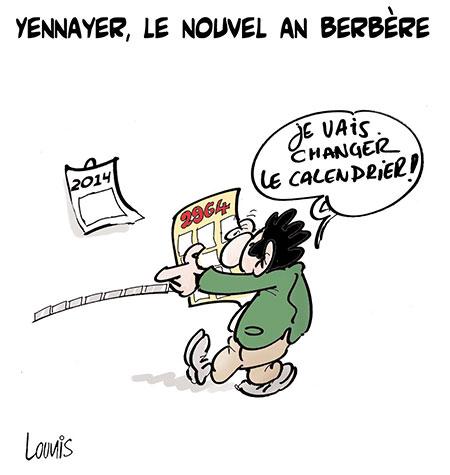Yennayer, le nouvel an berbère - Lounis Le jour d'Algérie - Gagdz.com