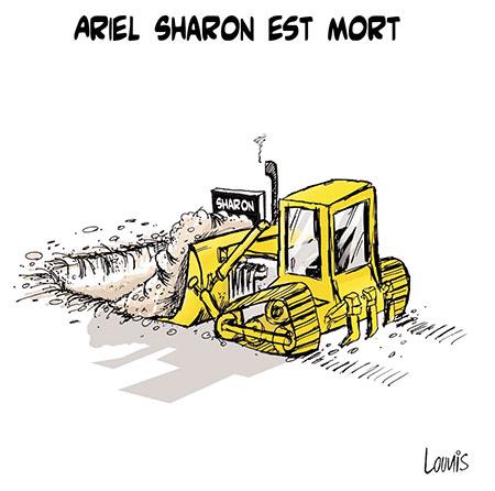 Ariel Sharon est mort - Lounis Le jour d'Algérie - Gagdz.com