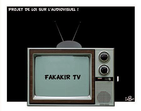Projet de loi sur l'audiovisuel - Vitamine - Le Soir d'Algérie - Gagdz.com