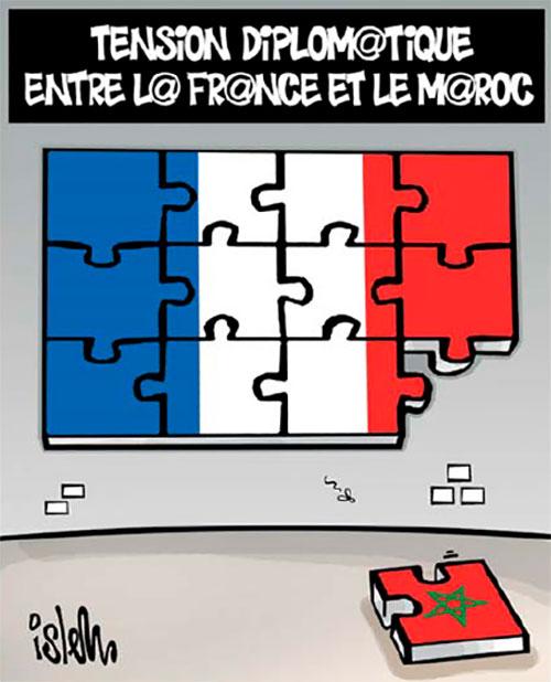 Tension diplomatique entre la France et le Maroc - Islem - Le Temps d'Algérie - Gagdz.com