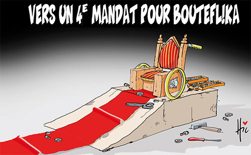 Vers un 4e mandat pour bouteflika - Le Hic - El Watan - Gagdz.com