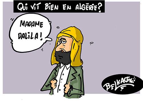 Qui vit bien en Algérie - Belkacem - Le Courrier d'Algérie - Gagdz.com