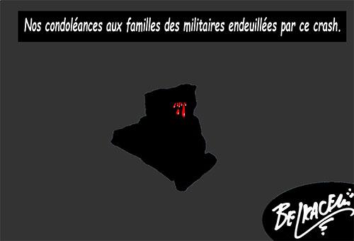 Nos doléances aux familles des militaires endeuillées par ce crash - Belkacem - Le Courrier d'Algérie - Gagdz.com