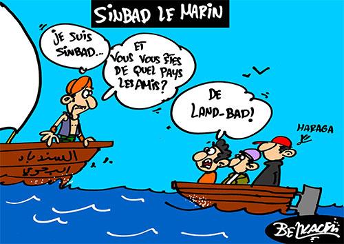 Sinbad le marin - Belkacem - Le Courrier d'Algérie - Gagdz.com