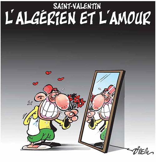 Saint-valentin: L'algérien et l'amour - Dilem - Liberté - Gagdz.com