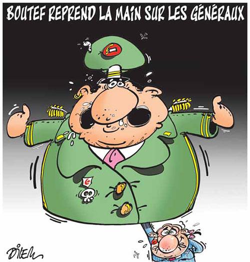Boutef reprend la main sur les généraux - Dilem - Liberté - Gagdz.com