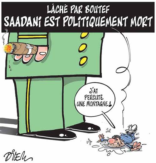Laché par Boutef: Saadani est politiquement mort - Dilem - Liberté - Gagdz.com