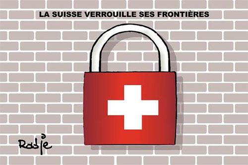 La suisse vérrouille ses frontières - Ghir Hak - Les Débats - Gagdz.com